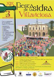 Cartel XIX Fiesta de la Sidra